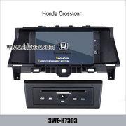 Honda Crosstour radio car DVD player GPS navi IPOD rearview camera SWE