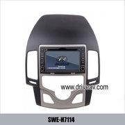 HYUNDAI i30 stereo radio Car DVD player TV GPS navigation SWE-H7114